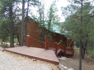 The Grizz Cabin - 3 Bed 4 Bath Log Cabin for 13, Alto