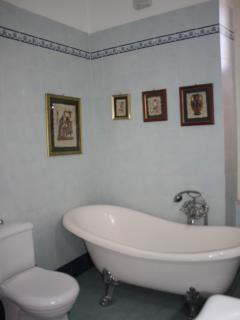 Interno della camera da bagno.