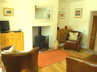 Cosy sitting room with TV / DVD, Wood burner, Wireless broadband