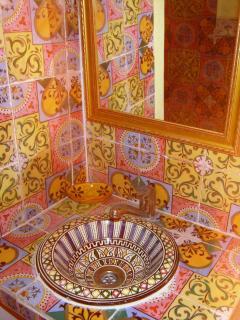 Lavabo de la chambre Canari