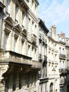 Les façades de la rue