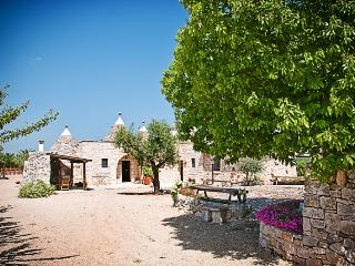 Trulli il Castagno: trulli holiday wine farm in puglia with one bedroom