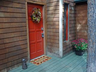Front entry to coziness awaits