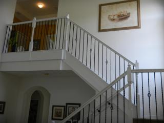 Stairs to second level