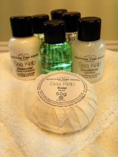 Complimentary Bath and Shower Goodies