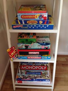 Extensive Games including Isle of WIght Monopoly Special Edition