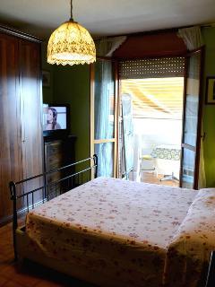 Dooble room with balcony