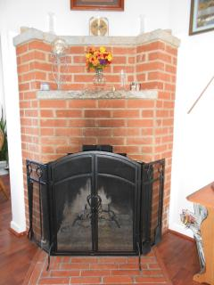 Fireplace (Duraflame logs provided)