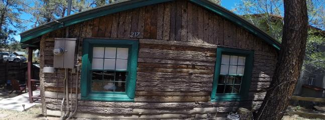 authentic log cabin