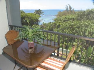 Maunaloa Shores 508: Stylish 2BR Oceanview Condo by Beach Park