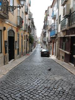 a street of Bairro Alto