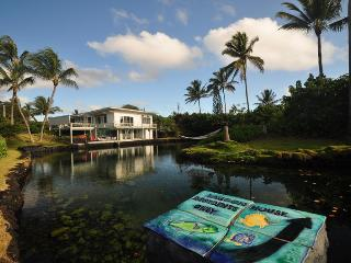 Lagoon House at Kapoho Beach: Huge, Private Volcano-Heated Tidal Pond