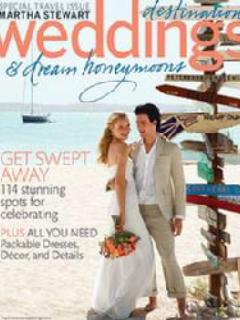 Weddings Magazine, Martha Stewart