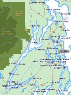Map of the Canal