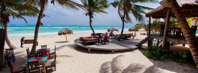 Tulum offers gorgeous beach bars