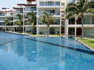BEACH FRONT + GROUND FLOOR + GYM + PRIVATE BEACH CLUB + BUSINESS CENTER
