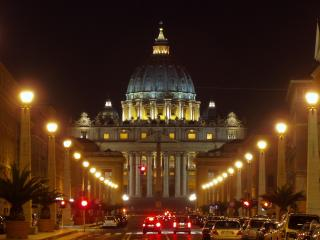 Nearby Vatican St. Peter's Cathedral (10 min walking distance)
