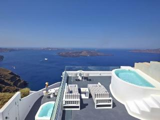 Blue Villas |Ariadne Suite | Private ,caldera view, Imerovigli