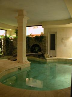 And in the cooler months you can enjoy the heated waters of this fantastic feature.