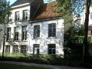 Achterhuis Patershol Ghent Belgium, Gante