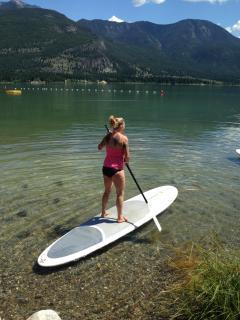 Play on the lake
