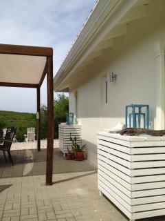 Right side of the villa