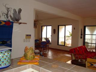 Casa del Sol - Upper Unit Living/Dinning Room