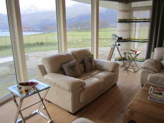 The lounge also boasts fabulous views