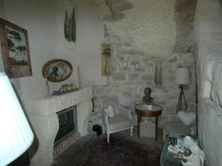 Inside the windmill, ground floor