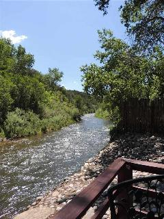West View of Pecos River