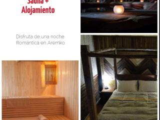 Deluxe Suite in Aremko Aguas Calientes