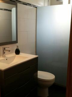 Stylish interior bathroom – there are a further three shower areas.