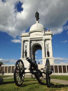 Gettysburg battlefield, Pennsylvania monument