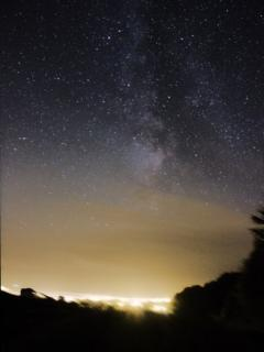 The Milky Way seen from the cottage - thank you David & Sarah HC!