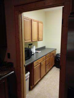 pantry/laundry room off kitchen