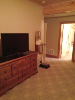 Den with 42' TV