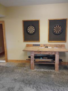 Double Dart boards for 'Responsible' tournament play