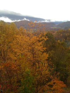 early fall view from our deck