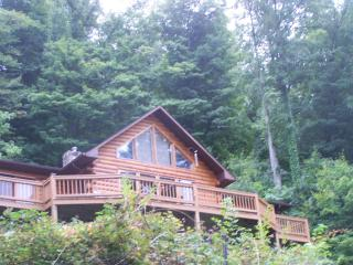 Log home with a view (discount for 3 nights stay)
