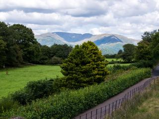 Private & secluded  location,  glorious views,  but only 5 mins drive / 20 mins walk into Hawkshead