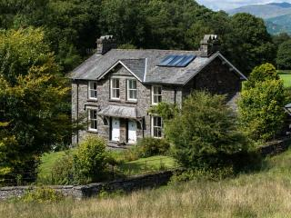Perfect location amidst the south lakeland fells below Latterbarrow, surrounded by woodland