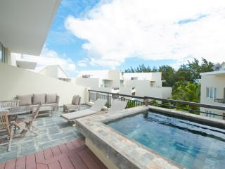 210 sqm penthouse with plunge pool opposite the beach
