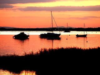 Sunset in Mudeford