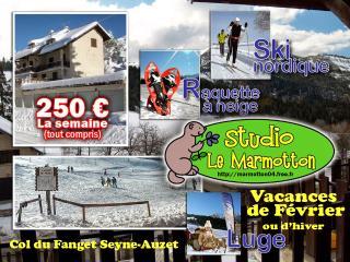 Studio Le Marmotton