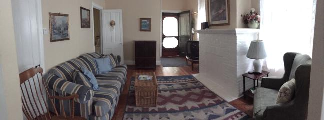 Family room - wide view