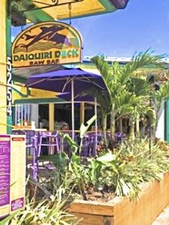 The Daiquiri Deck 2 blocks away