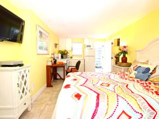 Our Top Location! The Siesta Key Village Studio.