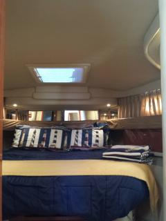 Captain's stateroom with neat hatch to sunkiss or stargaze