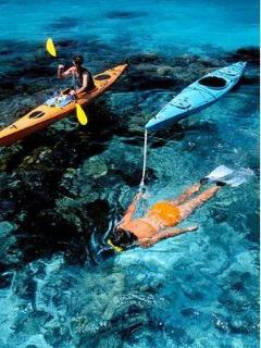 Snorkel and paddle the reef and nearby islets at high tide using our 2 single Kayaks. FJ$10/day