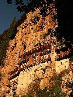Monastery of Prodromos near Lousios river.